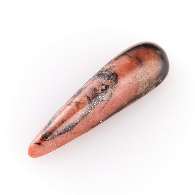 Кабошон родонит  6*23 мм кабошон родонит 10 18 мм