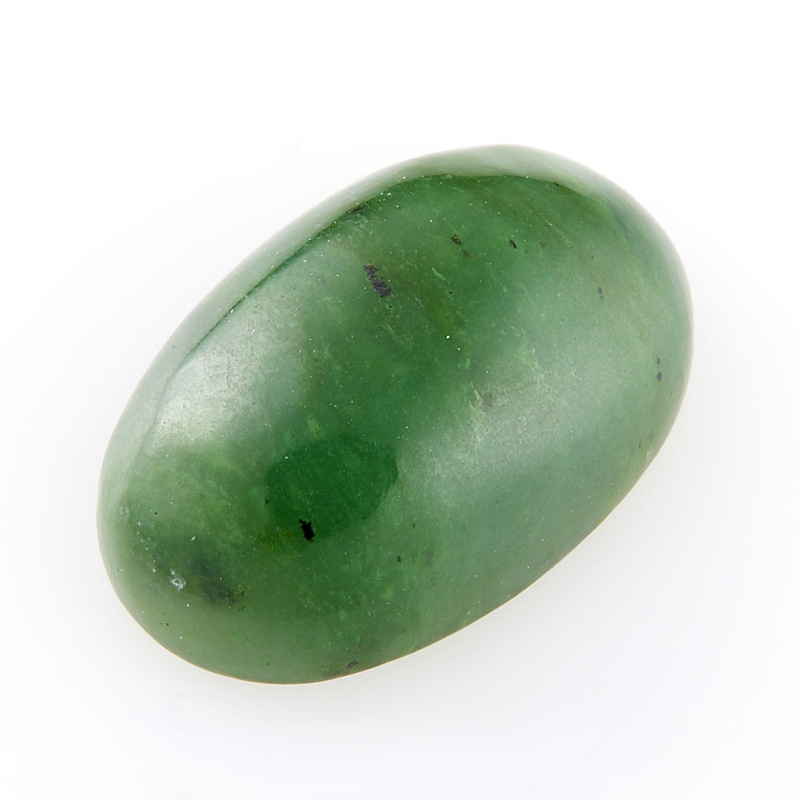 Кабошон нефрит зеленый  10*16 мм кабошон сердолик 30 40 мм