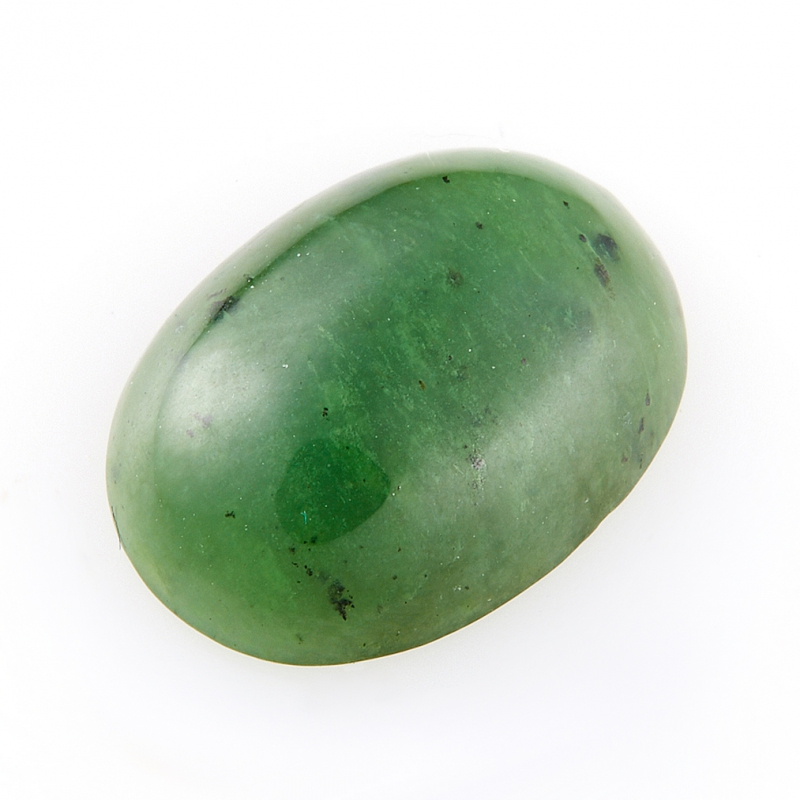Кабошон нефрит зеленый  12*16 мм кабошон сердолик 15 20 мм