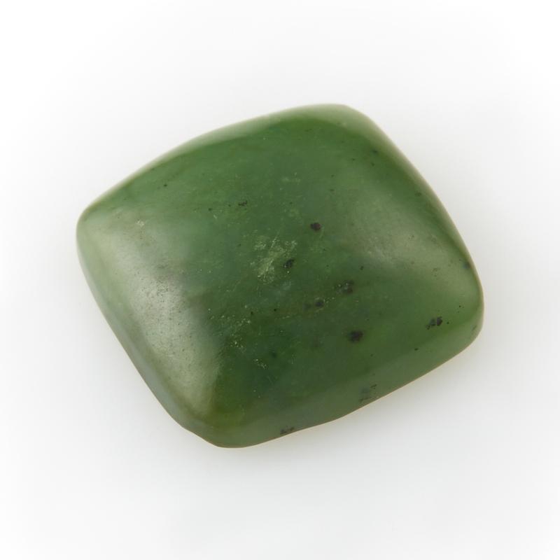 Кабошон нефрит зеленый  12*12 мм кабошон нефрит зеленый 12 12 мм