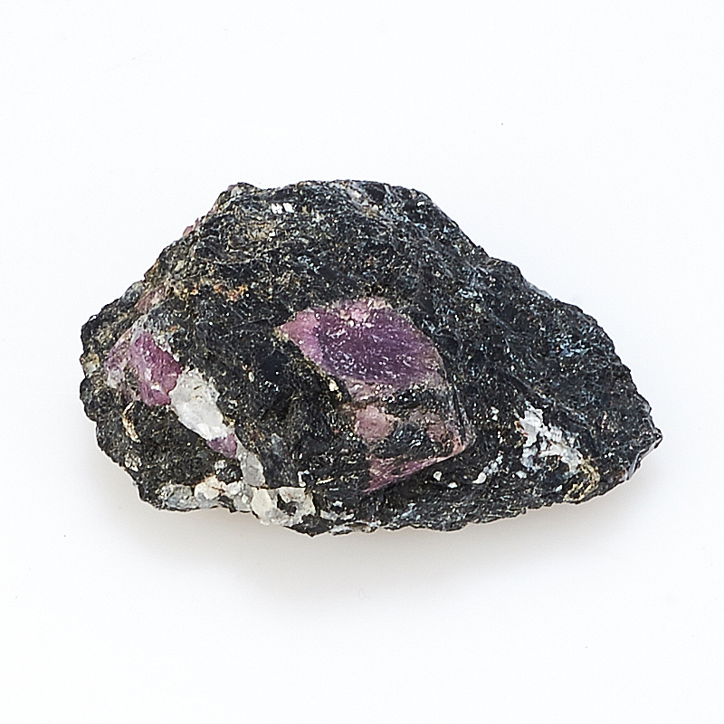 Кристалл корунд в породе амфиболит  XS от Mineralmarket