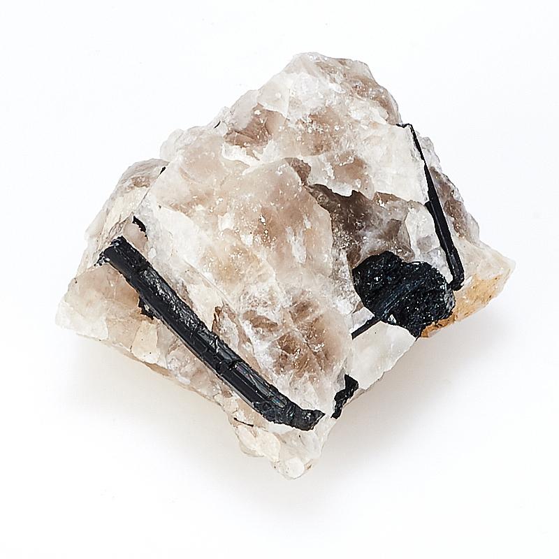 Кристалл в породе турмалин черный (шерл)  XS