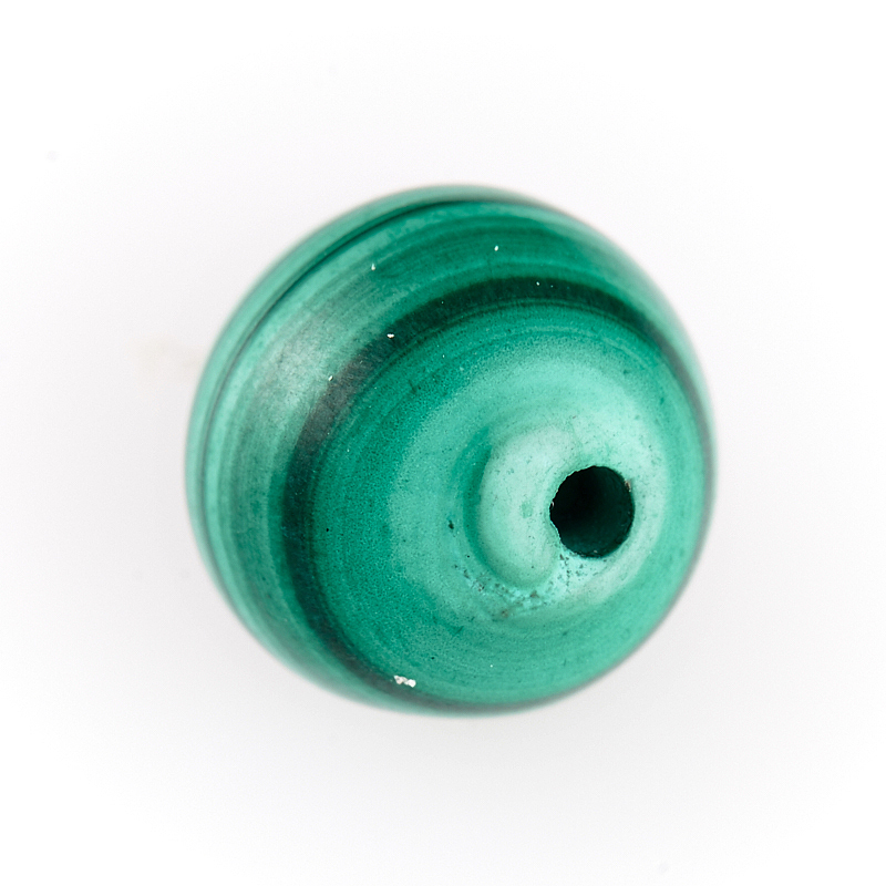 Бусина малахит шарик 7,5-8 мм (1 шт) бусина агат шарик 6 5 мм 1 шт