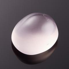 Кабошон розовый кварц Бразилия 12*14 мм