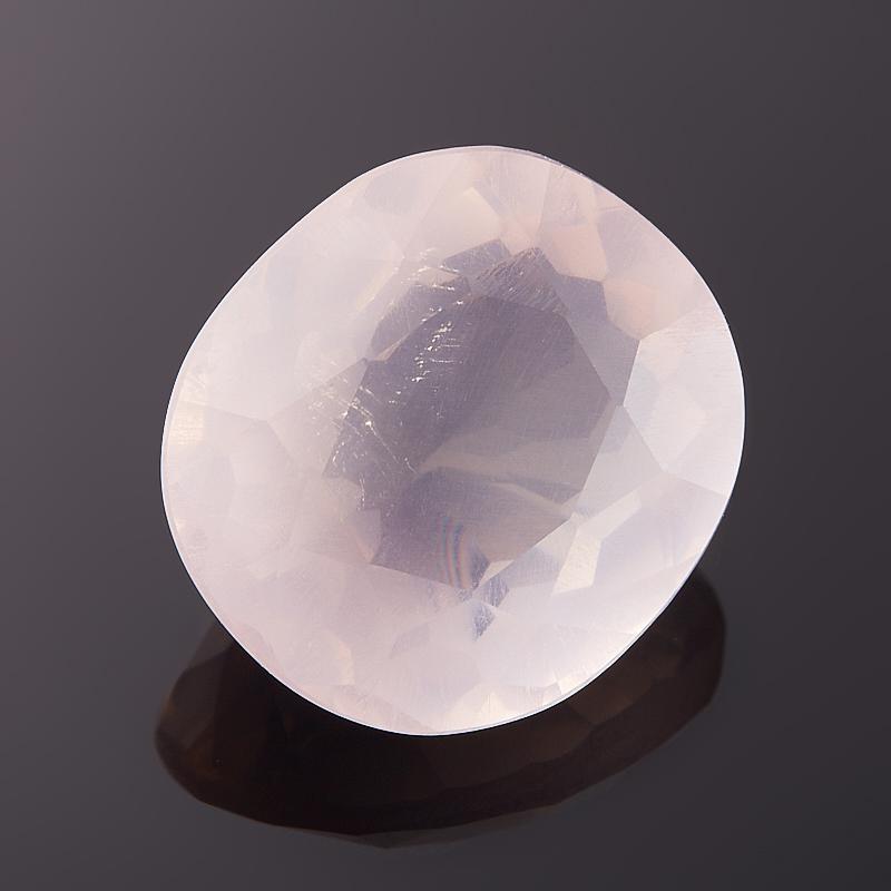 Огранка розовый кварц  12*13 мм от Mineralmarket