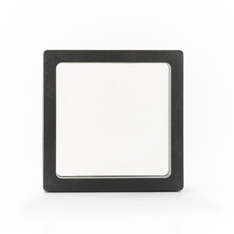 Супер-подставка черная для изделий 9х9 см основа для торта кружевное сердце 9х9 см 12 шт