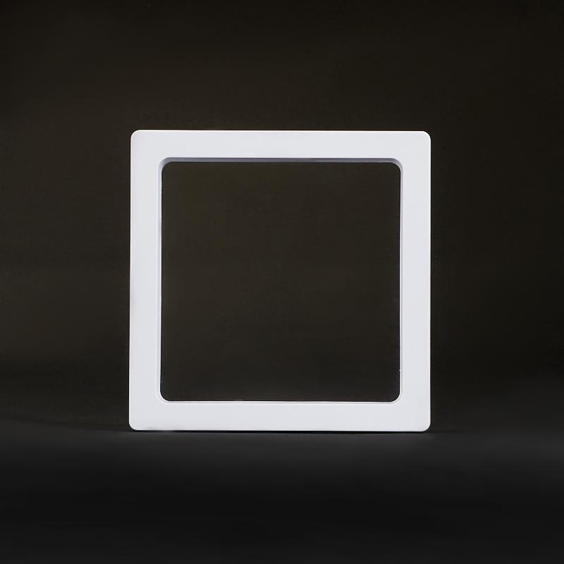 Супер-подставка белая для изделий 9х9 см основа для торта кружевное сердце 9х9 см 12 шт