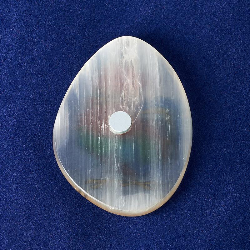 Магнит петушок селенит светлый  5 см