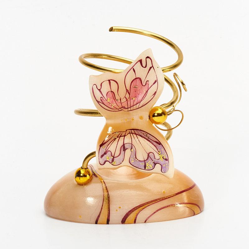 цены Карандашница Бабочка селенит 8,5x9,5 см