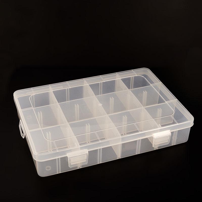 Коробка для коллекции камней  (12 ячеек) пластик