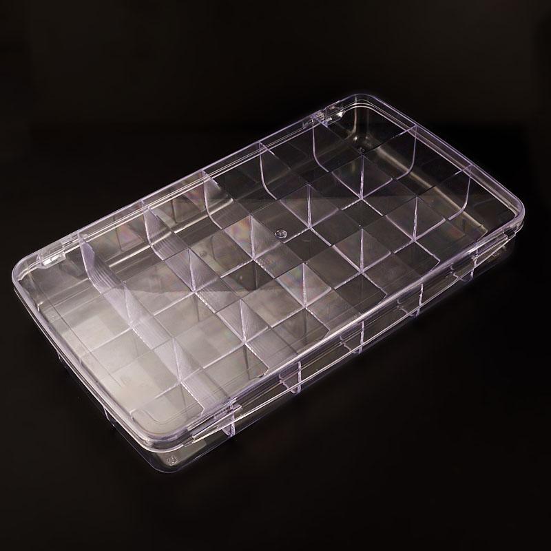 Коробка для коллекции камней  (18 ячеек) пластик