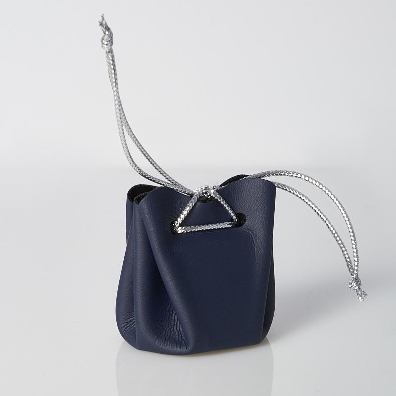 Подарочная упаковка универсальная (мешочек объемный темно-синий) 35х35х40 мм