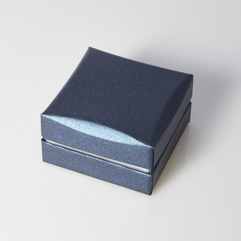 "Подарочная упаковка под комплект (кольцо, серьги, кулон) 60х60х35 мм ООО ""Карелшунгит"""