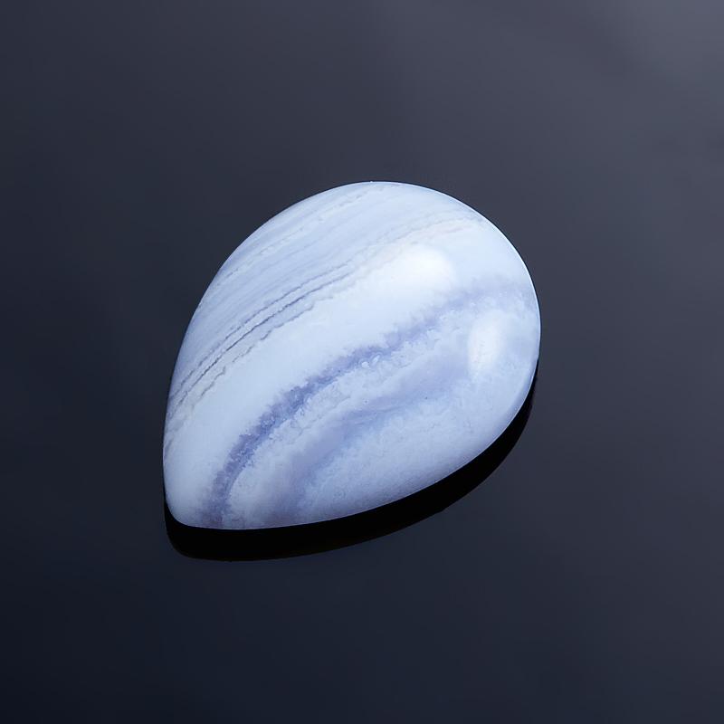 Кабошон агат голубой  13*18 мм кабошон агат серый 8 12 мм