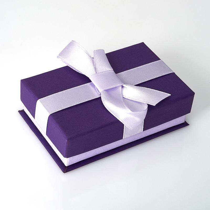 """Подарочная упаковка под комплект (серьги, кольцо) 85х55х25 мм ООО """"Карелшунгит"""""""