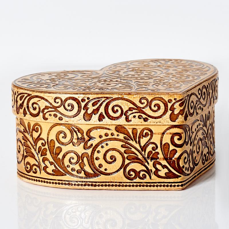 Шкатулка для хранения украшений 10х4,5 см giftman шкатулка для ювелирных украшений лебеди 10x5 см