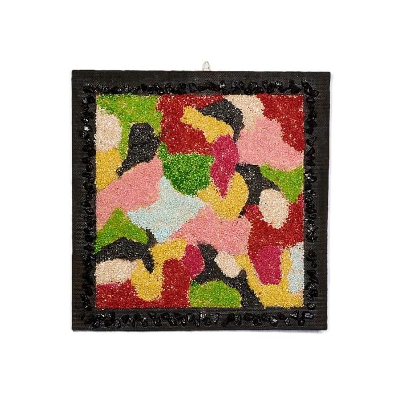 Картина из натуральных камней Минеральный коврик 31х31 см