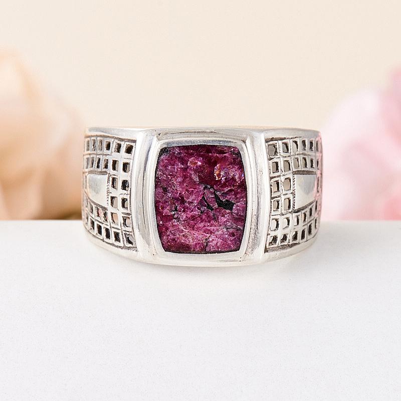 Кольцо эвдиалит  (серебро 925 пр.) размер 18,5