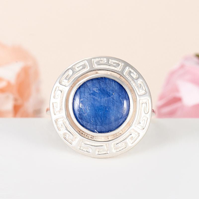 Кольцо кианит синий  (серебро 925 пр.) размер 17 кольцо персиянка кианит