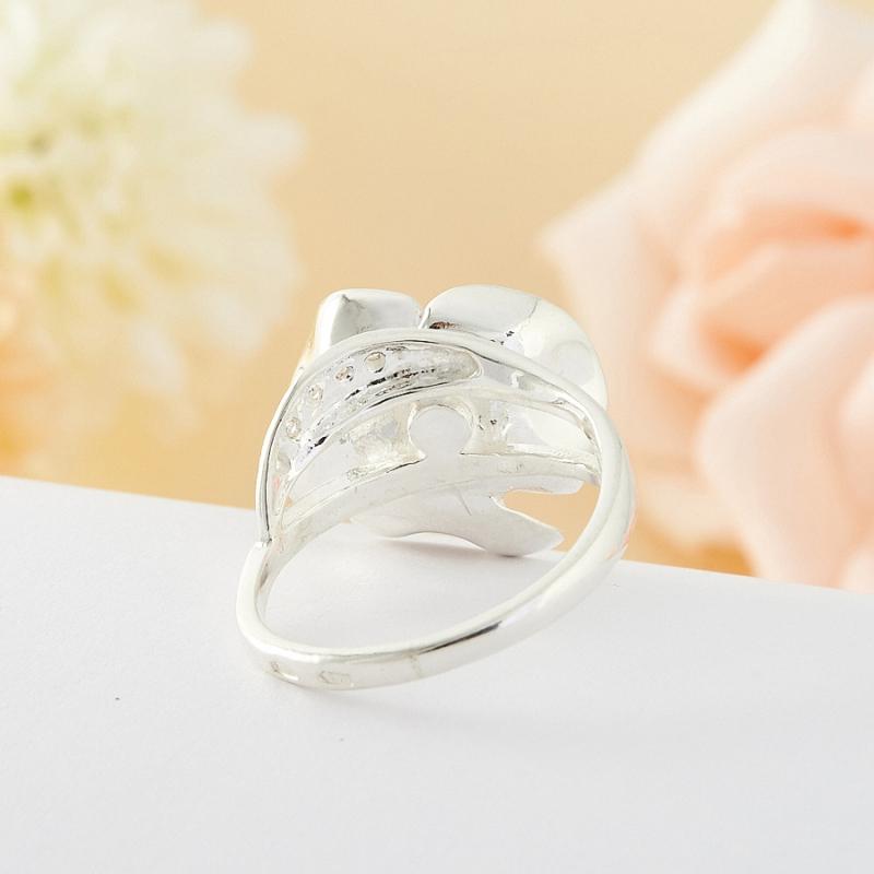 Кольцо гематит Бразилия (серебро 925 пр.) размер 18