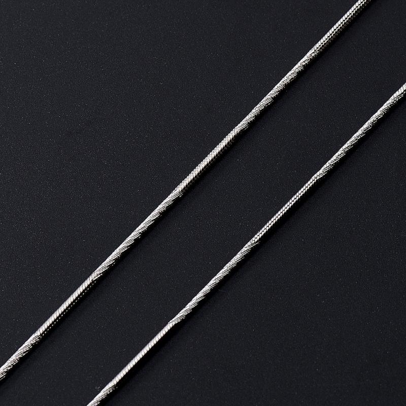 Цепь полновесная снейк 40 см  (серебро 925 пр.) женская цепь красцветмет золотая цепь ndнц 12 084 d 0 40 40