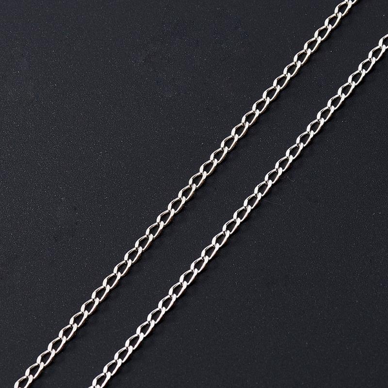 Цепь полновесная панцирь 60 см  (серебро 925 пр.)
