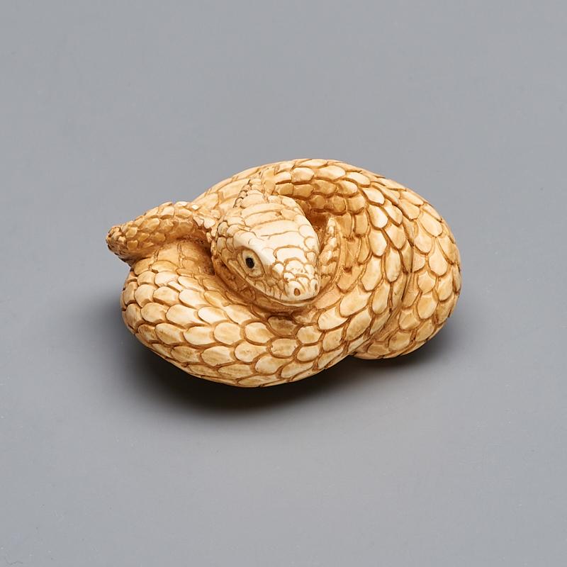 Змейка бивень мамонта  4 см