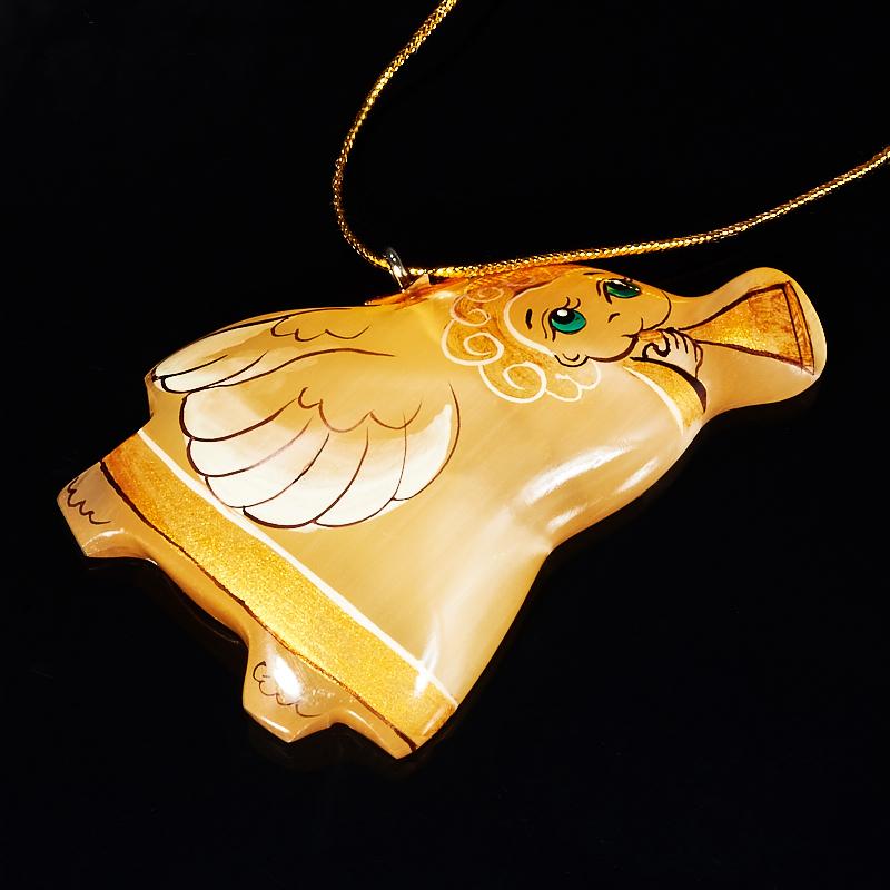 Елочная игрушка Ангел с трубой селенит 7 см дефлекторы окон 4 door chevrolet cruze wg 2012 nld schcruw1232