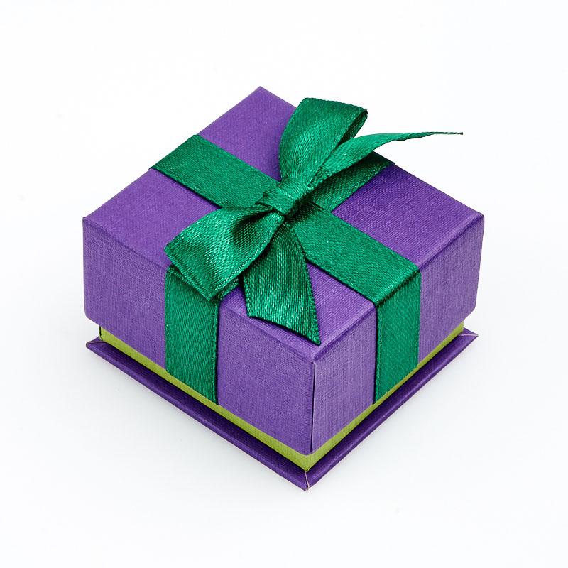 Подарочная упаковка под серьги/кольцо 55x50x35 мм