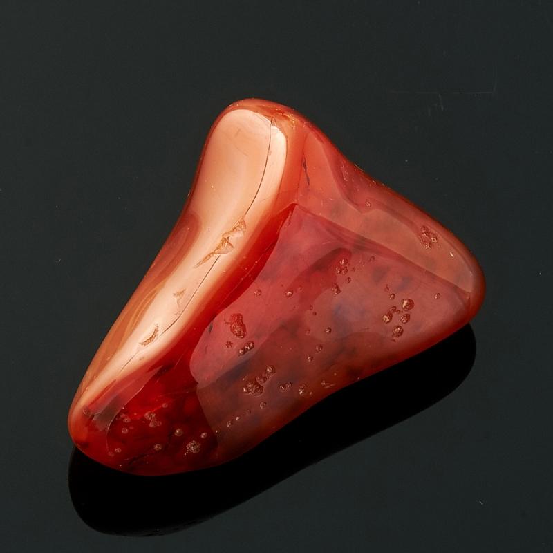 Галтовка Агат красный Бразилия (3-4 см) (1 шт)