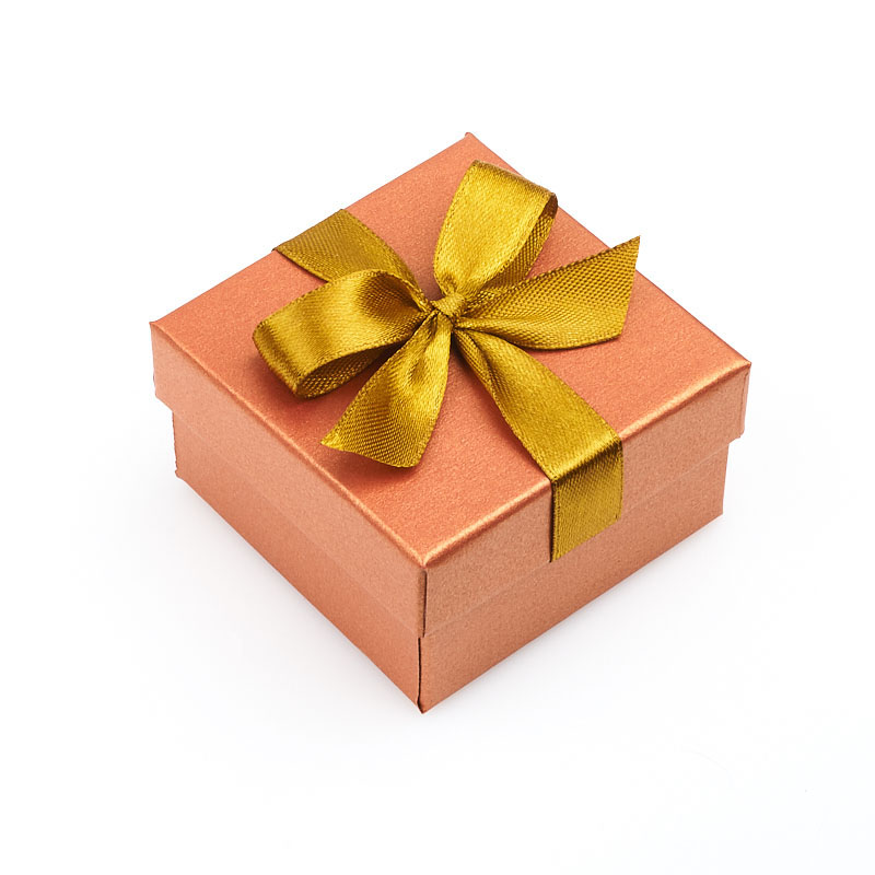 Подарочная упаковка под серьги/кольцо 55х55х30 мм
