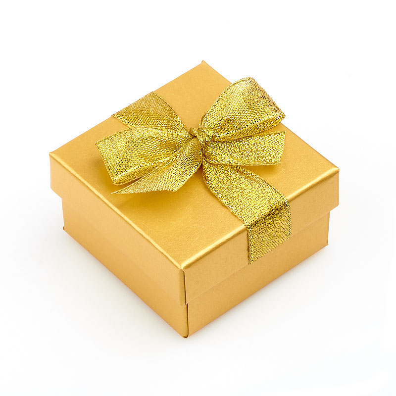 "Подарочная упаковка под комплект (серьги, кольцо, кулон) 55х55х30 мм ООО ""Карелшунгит"""
