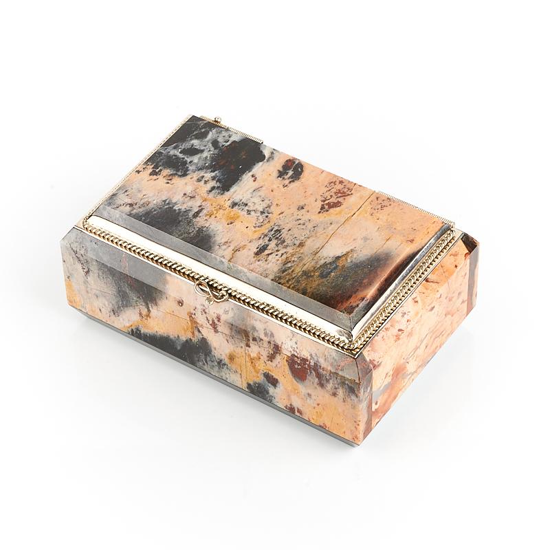 Шкатулка яшма  8,5*5*4 см
