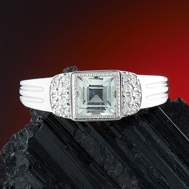 Кольцо празиолит огранка (серебро 925 пр.) размер 20,5 кольцо празиолит огранка серебро 925 пр размер 17