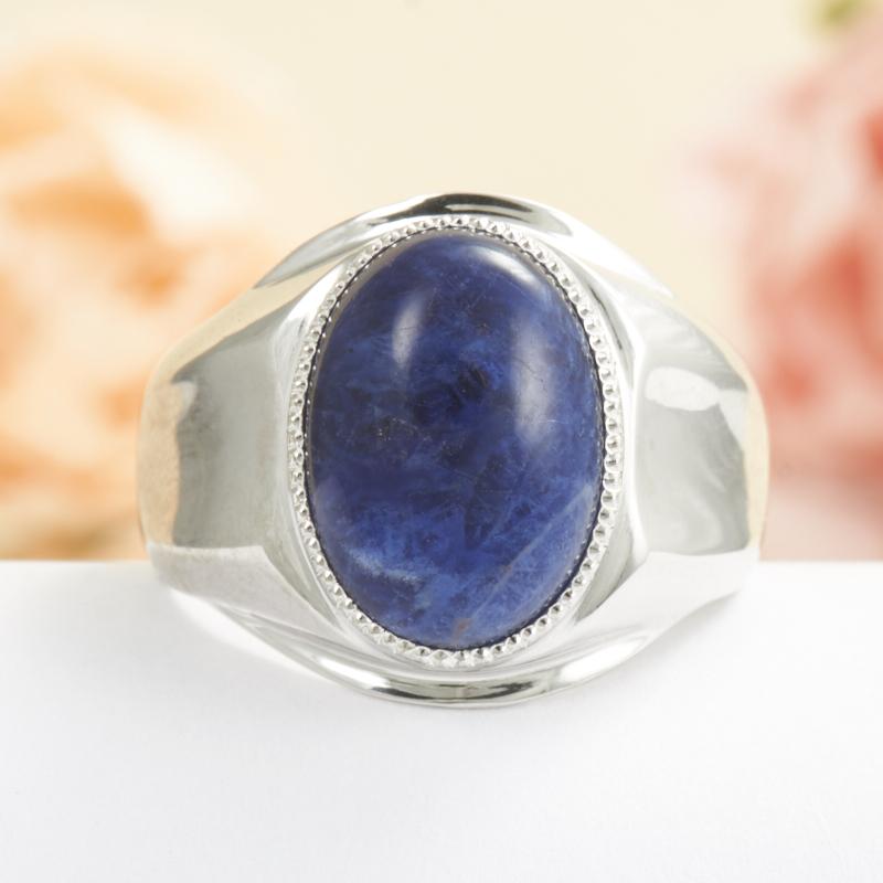 Кольцо содалит  (серебро 925 пр.) размер 18,5