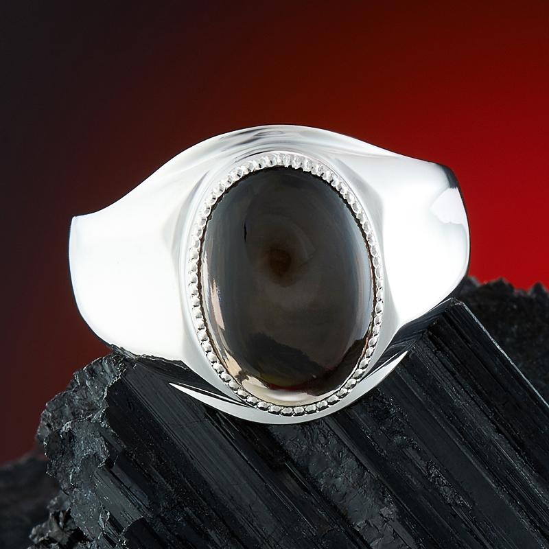 Кольцо раухтопаз  (серебро 925 пр.) размер 21,5