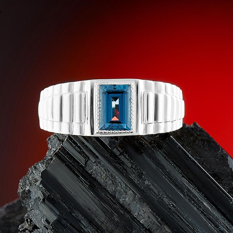 Кольцо топаз лондон огранка (серебро 925 пр.) размер 20 кольцо коюз топаз кольцо т13101339