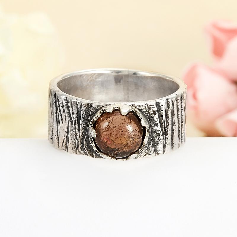 Кольцо турмалин розовый (рубеллит)  (серебро 925 пр.) размер 20