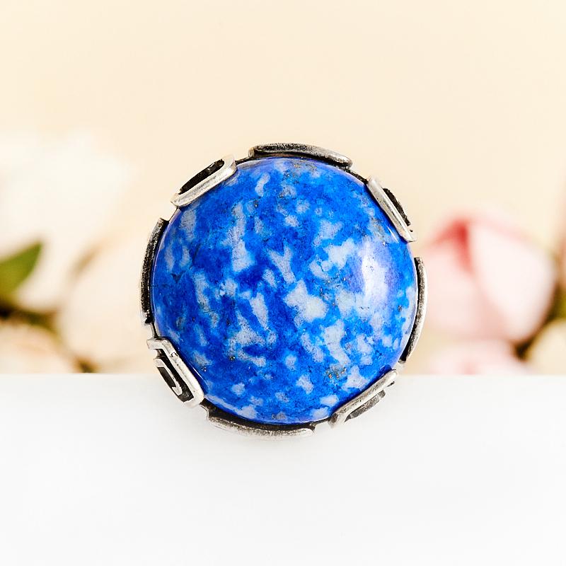 Кольцо лазурит  (серебро 925 пр.) размер 18,5 кольцо авантюрин зеленый серебро 925 пр размер 18