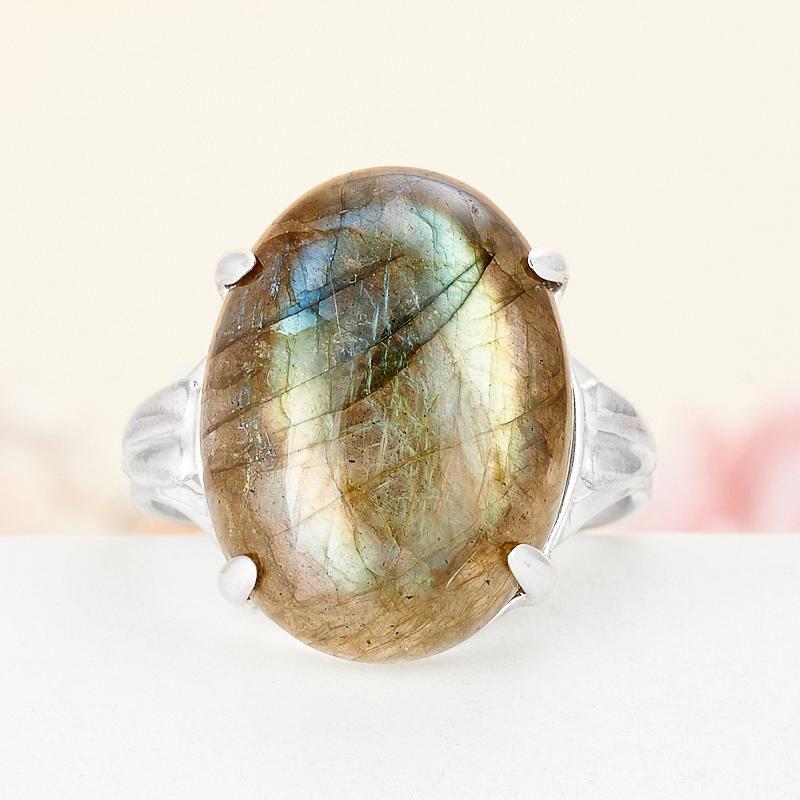 Кольцо лабрадор  (серебро 925 пр.) размер 19