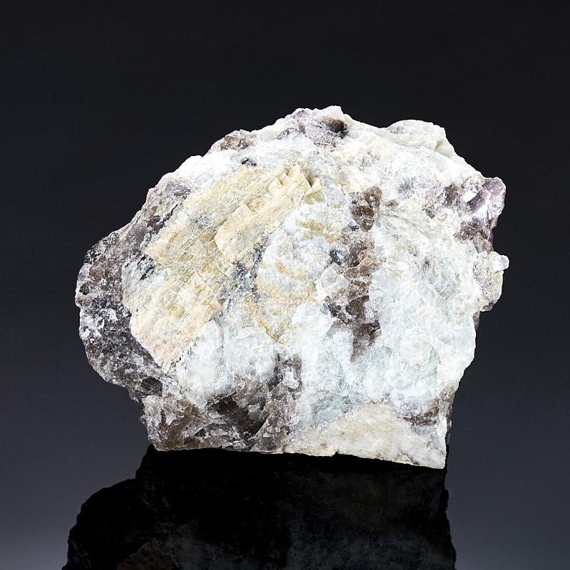 Образец лепидолит, кварц, сподумен  S