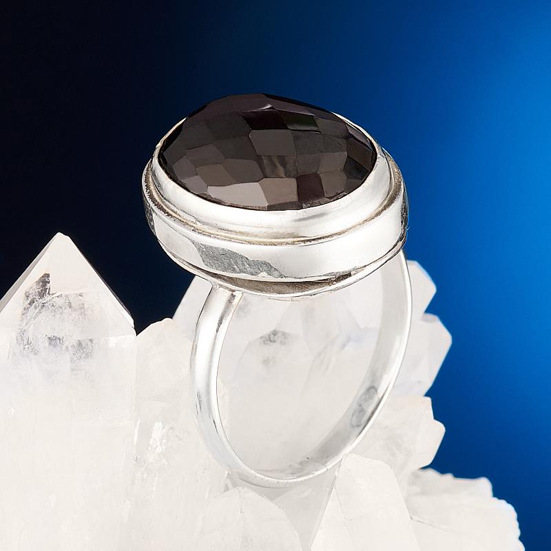 Кольцо шпинель  (серебро 925 пр.) размер 18