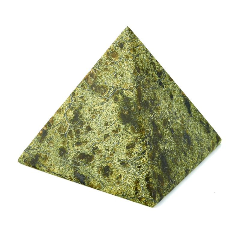 Пирамида змеевик  6 см