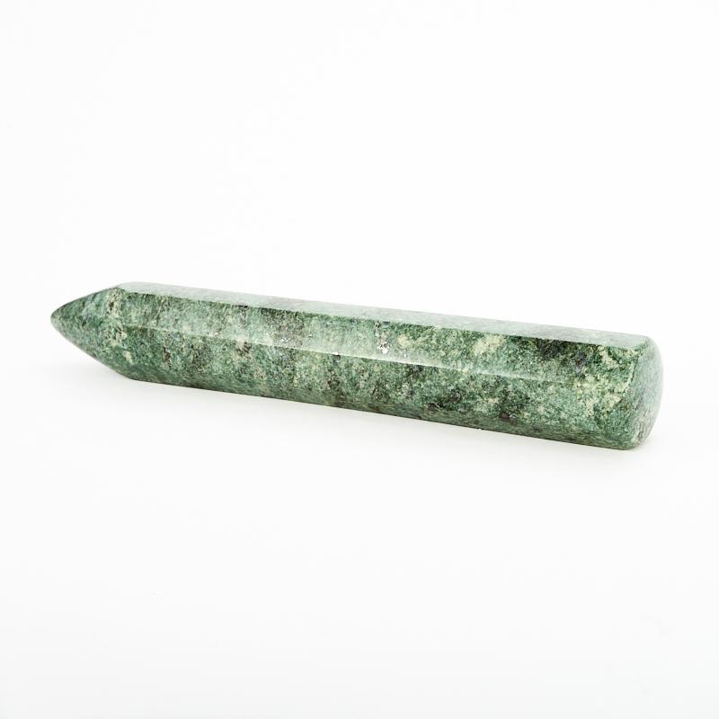 Массажная палочка змеевик  14-15 см массажная палочка шунгит 8 10 см