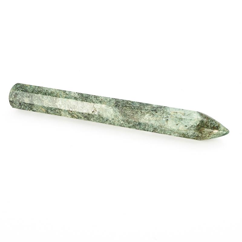 Массажная палочка змеевик  16-17 см массажная палочка шунгит 8 10 см