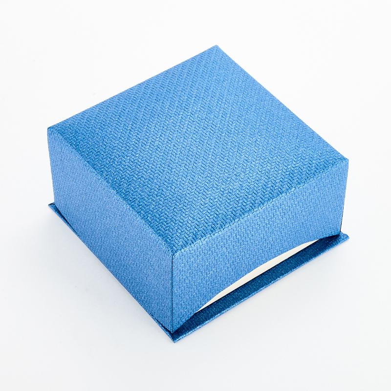Подарочная упаковка под комплект (серьги/кольцо/кулон) 80х80х45 мм
