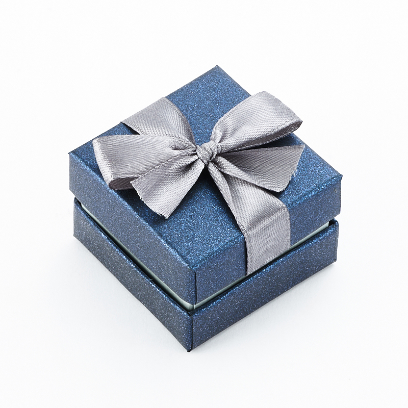 Подарочная упаковка под кольцо/серьги 40х40х30 мм