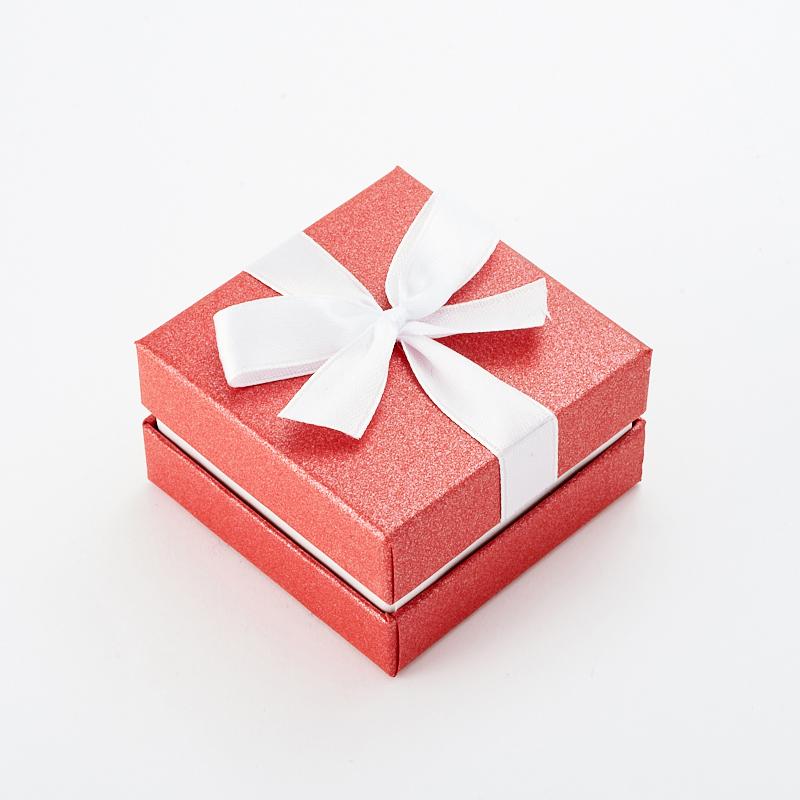 "Подарочная упаковка под комплект (кольцо, серьги, кулон) 55х55х35 мм ООО ""Карелшунгит"""