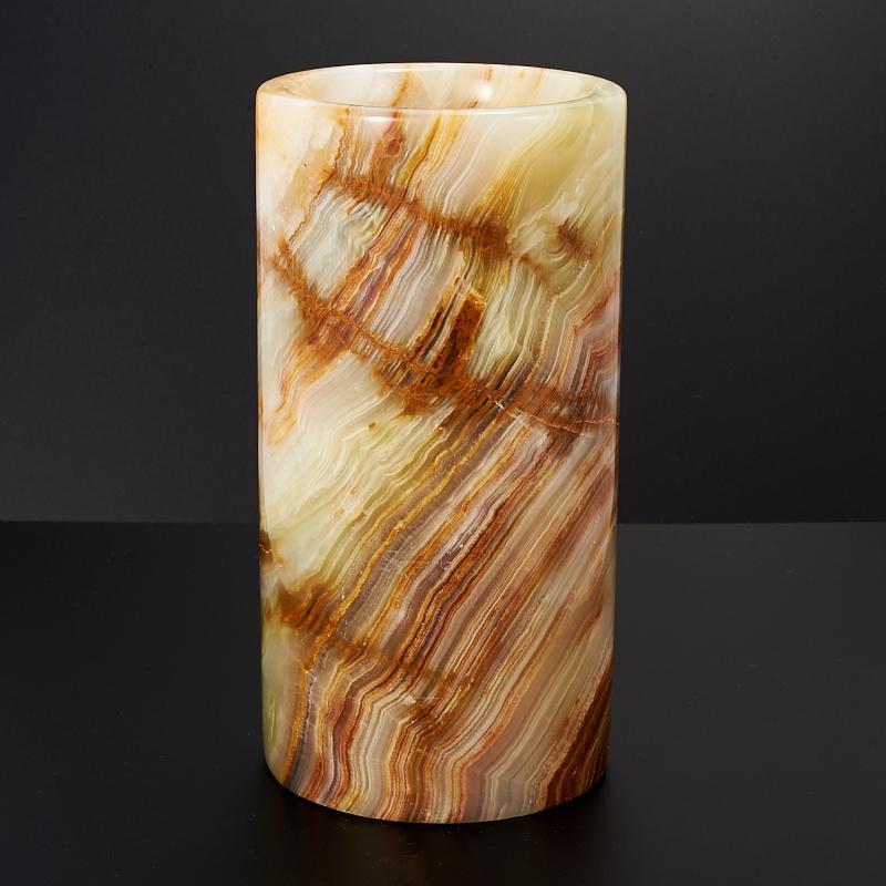 Ваза оникс мраморный 7,5х14,5 см