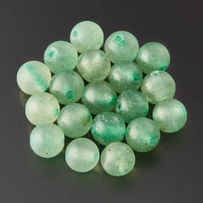 Бусина авантюрин зеленый Зимбабве шарик 4,5 мм (1 шт)